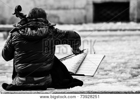 Music in the snow