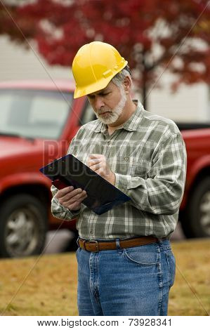 Construction Supervisor Writing Report