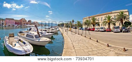 Old Harbor Of Stari Grad Town