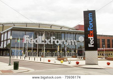 Fedex Forum, Memphis, Tn