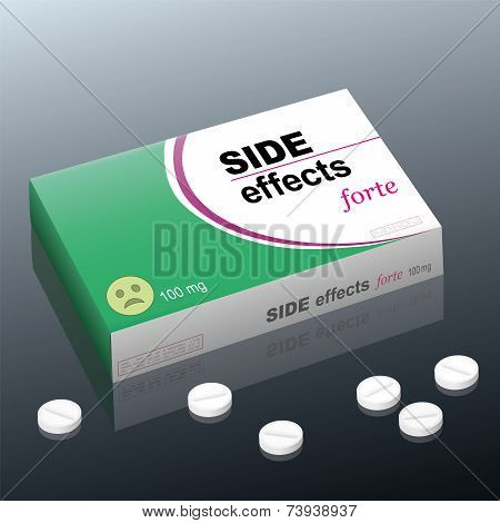 Side Effects Medicine Package