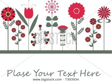Congratulatory card for you.vector illustration