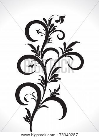 Abstract Artistic Floral Background