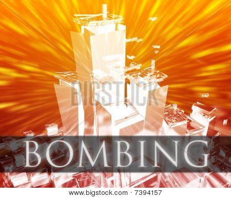 Terrorismus Bombardierung