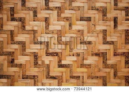 woven texture vernacular wall