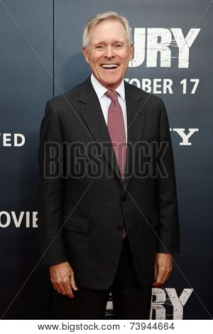 NEW YORK-OCT 15: Secretary of the Navy Ray Mabus attends the world premiere of