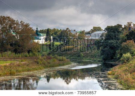 Kamenka River. Suzdal. Russia