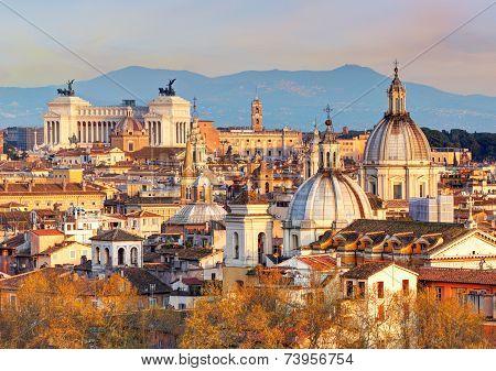 Rome - Skyline, Italy