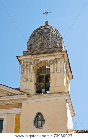 Church of St. Francesco. Padula. Campania. Italy.
