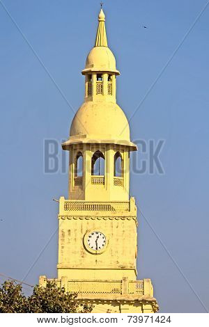 Clock Tower In Porbandar
