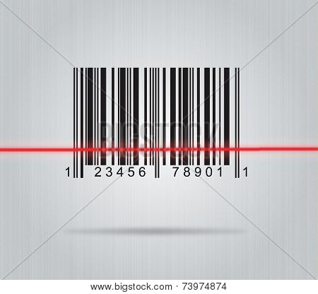 Barcode With Scanner Laser