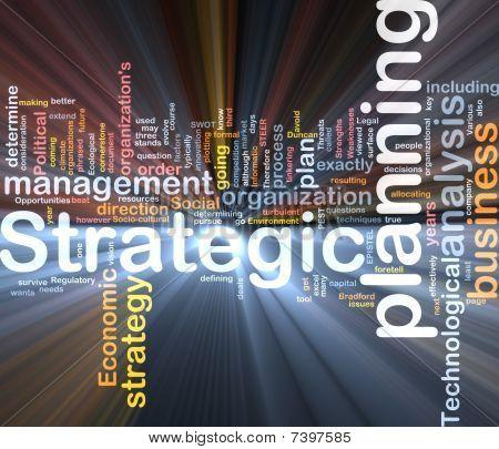Strategic Planning Word Cloud Box Package