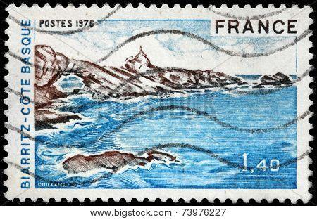 Biarritz Stamp