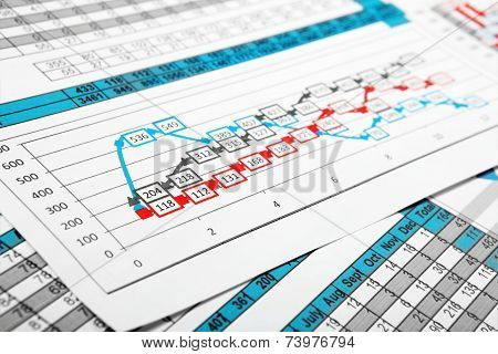 Reports In Multicolor Graph And Figures
