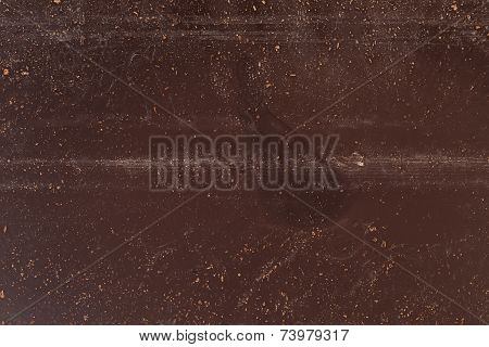Texture Of Back Of Chocolate Bar