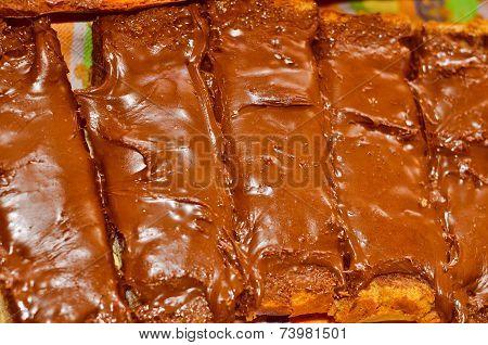Retro Look Chocolate Cookies