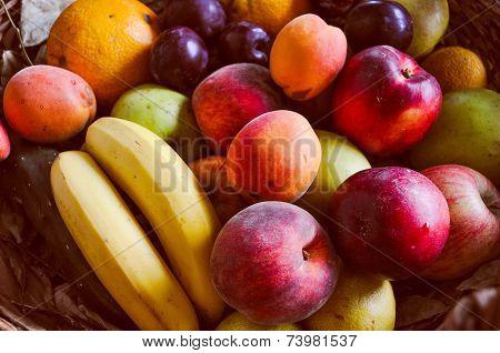 Retro Look Fruit Food