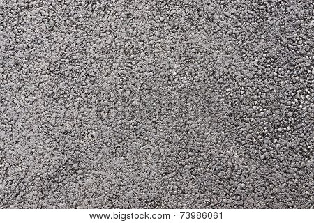 Dark Rough Surface For A Paving