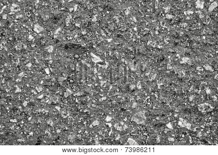 Gray Rough Stone Surface