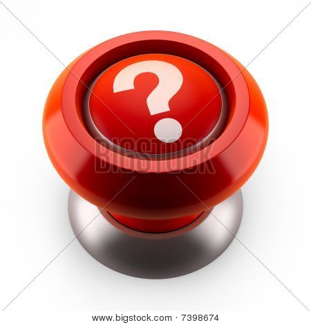 Red button which question mark