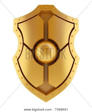 Golden shield concept
