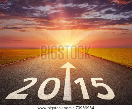 Driving On An Empty Road To 2015