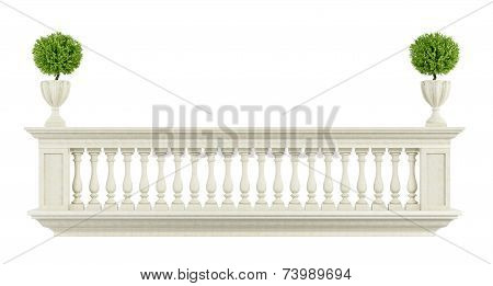 Classic Balcony Balustrade
