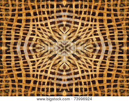 Abstract Kaleidoscope Fur Pattern