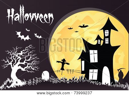 Haunted house-Halloween