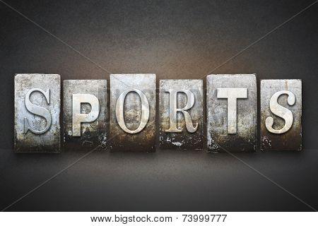 Sports Letterpress Theme