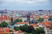 Cityscape Of Old Prague, Europe poster