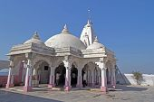 stock photo of shiva  - Temple of Shiva Indreshwar in Porbandar - JPG