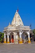 picture of shakti  - . Hindu temple of Mother Durga in the town Porbandar, Gujarat - JPG