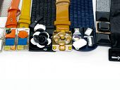 picture of obsidian  - Set of female fashion belts  - JPG
