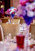image of banquet  - Luxury wedding banquet at restaurant - JPG
