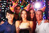 picture of club party  - Birthday party in club - JPG