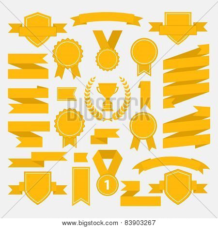 Yellow ribbons set I