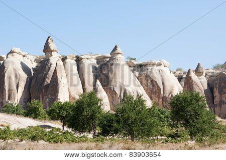 Rock Formation Goreme; Turkey