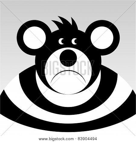 Sad Cartoon Bear