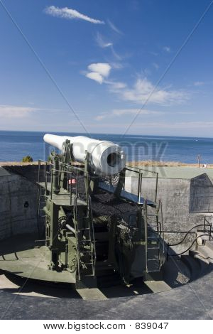 old coastal gun implacement