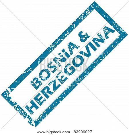 Bosnia and Herzegovina rubber stamp