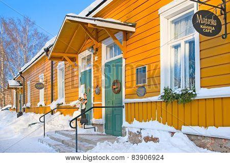 Lappeenranta. Finland. Majurska Kahvila (Major's wife Cafe)
