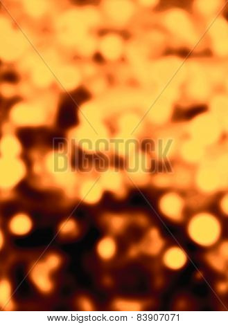 Festive Abstract Background With Soft Colored Bokeh And Defocused Sparkle Lights. Holiday Christmas