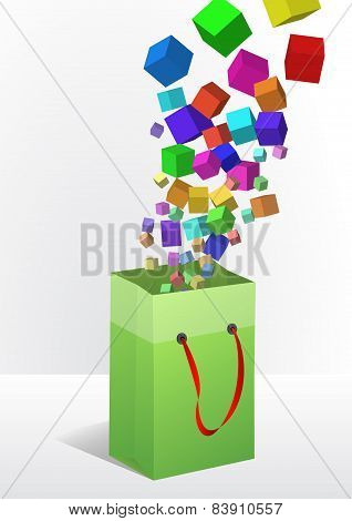Cubes Shopper