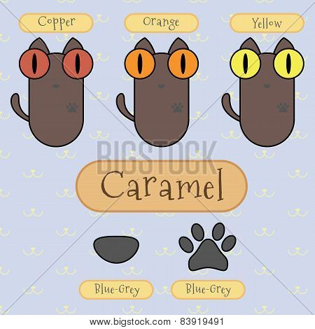 Caramel Color Cat.