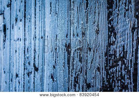 Frozen Wooden Wall