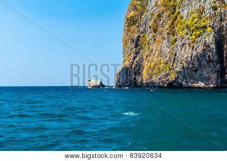 Phi Phi Cliff