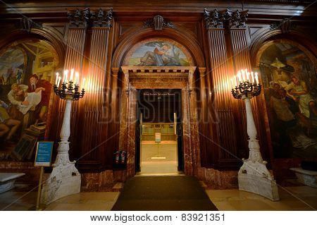 McGraw Rotunda, New York Public Library