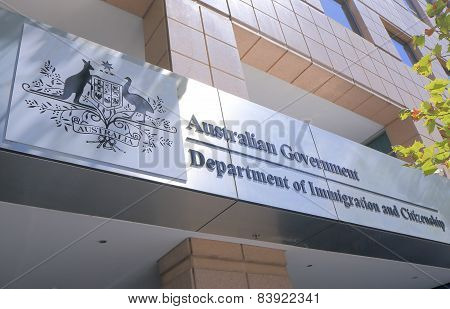 Department of Immigration Australia