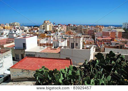 City rooftops, Almeria.